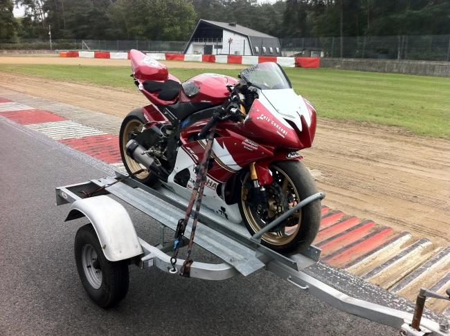 moto piste a vendre belgique