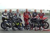 Cliquer pour agrandir la photo : Les Belges au WERC-SIFAM, de gauche à droite : Hervé, Olivier, Charlène, Christian, Eric et Laurent