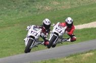 Cliquer pour agrandir la photo : Nous retrouvons les 2 frères Danilo pour un mano à mano lors de la 2ième course