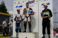 Cliquer pour agrandir la photo : Podium Supersport Race 1 (Inters)