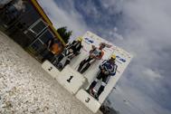 Cliquer pour agrandir la photo : Podium Monobike 450 Race 1