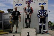 Cliquer pour agrandir la photo : Podium Monobike 450 Race 2