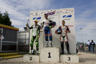 Cliquer pour agrandir la photo : Podium Supersport Race 2 (Inters)